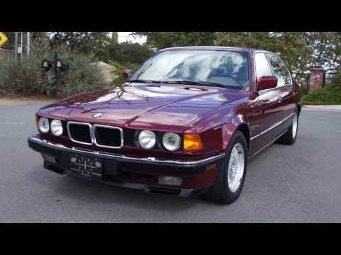 BMW 740IL E32 E38 V8 750IL 740i 1 Owner 52,000 Original mile 1 Owner Car Guy