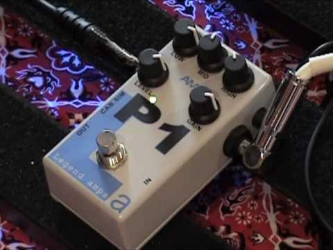 AMT Electronics Legend Amps Series P1 guitar effects pedal demo