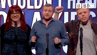 Video Things you wouldn't hear on a Kids' TV show - Mock the Week: Series 15 Episode 3 Preview - BBC Two MP3, 3GP, MP4, WEBM, AVI, FLV September 2019