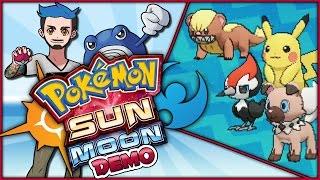 CATCHING 20 POKÉMON IN THE POKÉMON CATCHING CONTEST | Pokémon Sun & Moon Special Demo Version by Ace Trainer Liam