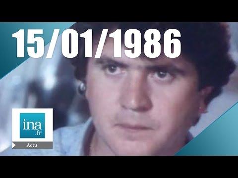 20h Antenne 2 du 15 janvier 1986 : Mort de Daniel Balavoine et Thierry Sabine | Archive INA
