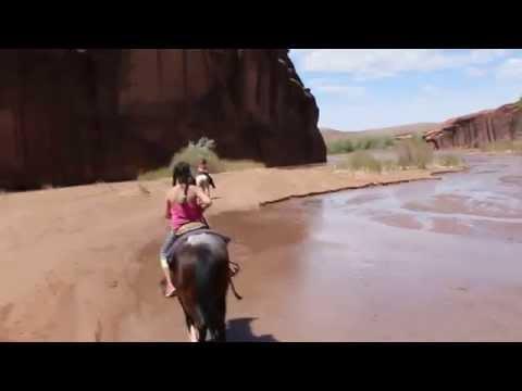 Canyon de Chelly, Arizona -- Horseback Riding