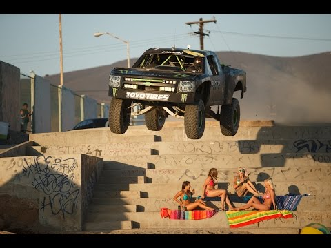 monster - What better place than the city streets of Ensenada Mexico, the home of the Baja 1000, to set the stage for the sequel to Ballistic BJ Baldwin's viral hit Re...