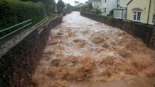 Devon United Kingdom  City new picture : Sidmouth, Devon, UK floods