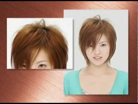 Corte de pelo con navaja Feather-  06 cabello medio para mujer -Fejic España (Castellano)