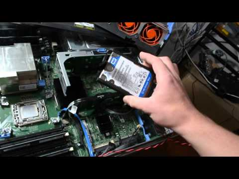 How I installed 2 additional hard drives into the R710