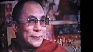 HH Dalai Lama over Thomas Merton