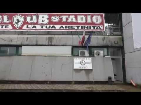 Stadio e antistadio, querelle Arezzo-Comune