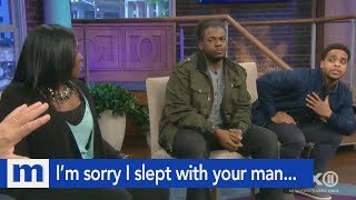 I'm sorry I slept with your man...But I think he's the father! | The Maury Show