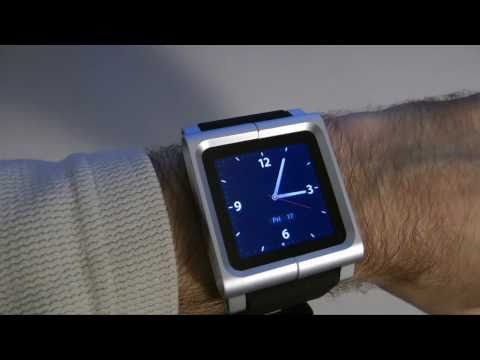 ipod as a watch - The LunaTik Multi-Touch Watch Kit is a superb piece of engineering. It converts your 6th Gen Apple iPod Nano into a wearable timepiece. Useful Links Supplied...
