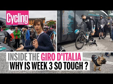 Why is week three so damn tough? | Inside the Giro d'Italia | Cycling Weekly
