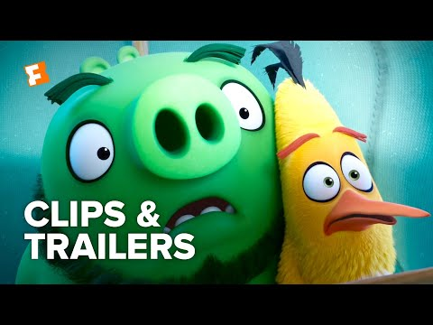 The Angry Birds Movie 2 ALL Clips + Trailers (2019) | Fandango Family