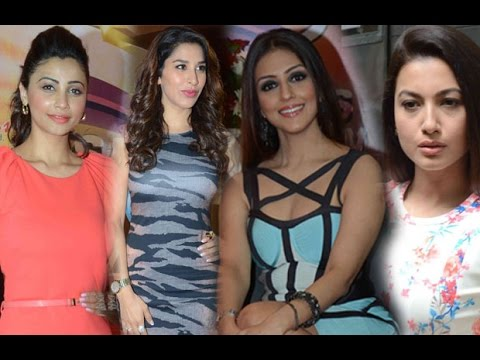 Daisy Shah, Sophie Choudry And Gauhar Khan At Coun