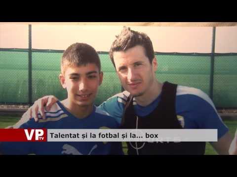 Talentat și la fotbal și la… box