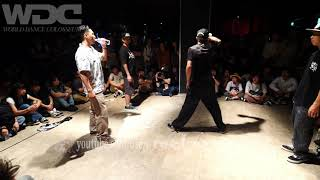 Co-thkoo (Gucchon & Kei) vs HARUWING (はるた & Wing) – WDC 2019 POPPIN' BEST8