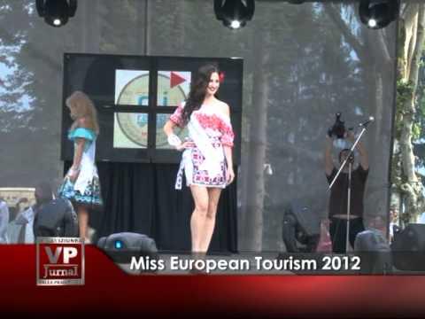 MISS EUROPEAN TOURISM 2012
