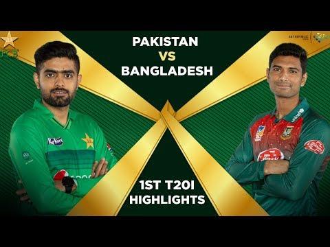 Pakistan vs Bangladesh 2020 | Full Highlights |1st T20I | PCB
