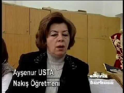 Sim Sırma (Maraş İşi) 3/3 / Gold Embroidery - Ellerin Türküsü Kanal B