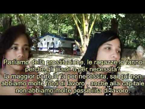 Una video intervista ad alcune ragazze incontrate a Sosua dove si