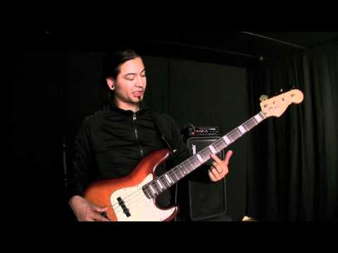 We met Uriah Duffy and did a bass session with him. Watch as he shows how to make cool harmonics.