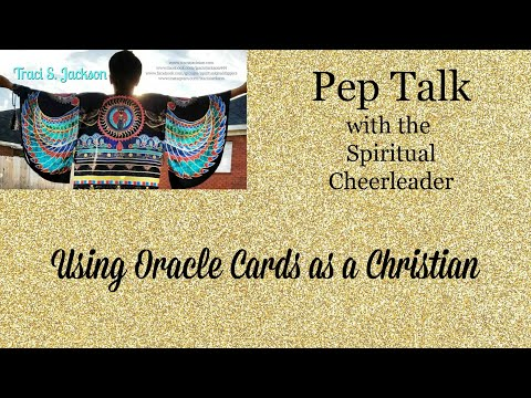 Using Oracle Cards  As A Christian