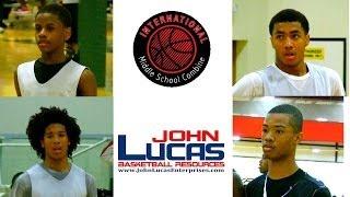 Top Middle School Basketball Players Battle at John Lucas Camp 2014