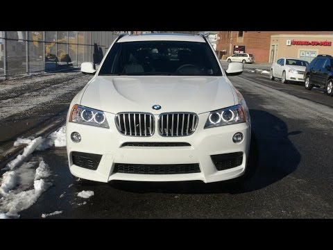2013 BMW X3 35i M-Sport In Depth Review, Start Up, Exhaust, Cornering, Braking, and Driving Scenes