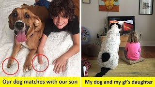 Video Wholesome Pictures That Show How Dogs Make Kids Life Better MP3, 3GP, MP4, WEBM, AVI, FLV Maret 2019