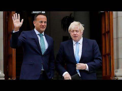 Δουβλίνο: Εκστρατεία «πειθούς» του Μπόρις Τζόνσον για brexit και backstop…