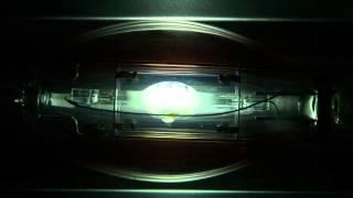 100W Metal Halide Lamp Startup