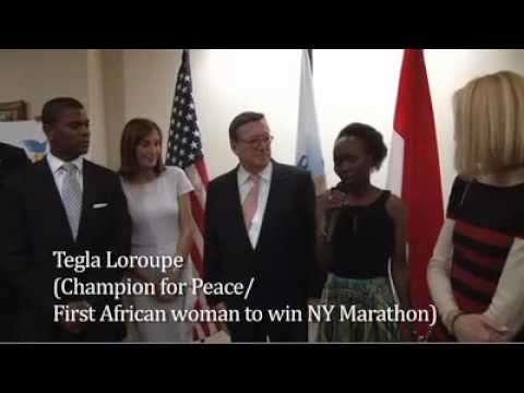 Peace &amp; Sport Reception at the Consulate General of Monaco in New York