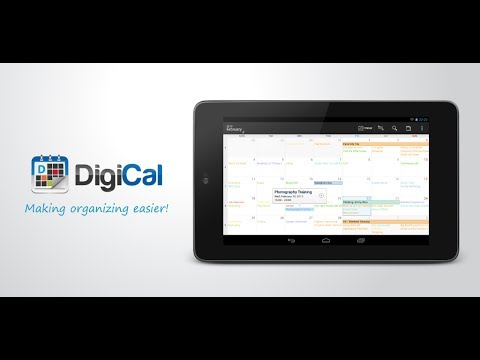 Video of DigiCal+ Calendar & Widgets