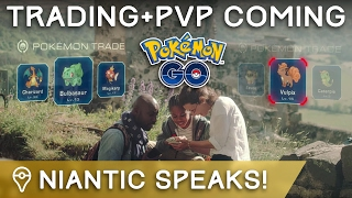 NIANTIC CONFIRMS TRADING, PVP, & EVENTS COMING TO POKÉMON GO by Trainer Tips