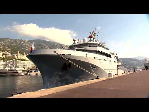 14 juillet : un bâtiment de la Marine française à Monaco