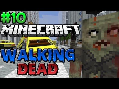 Minecraft : Walking Dead Modded Survival Season 2 Episode 10 - THE PRISON!