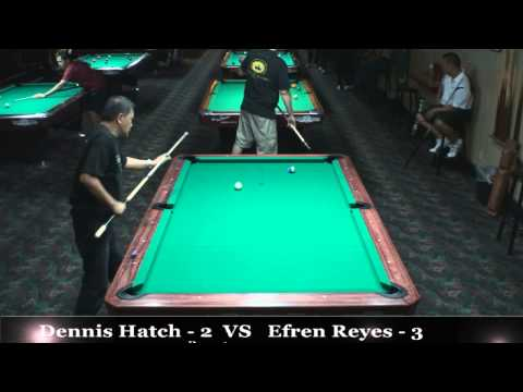 5th Annual HT 10- Ball / Efren Reyes vs Dennis Hatch / July / 2014