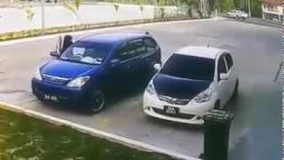 Bongawan Malaysia  City new picture : Cubaan Curi Kereta | Petronas Bongawan