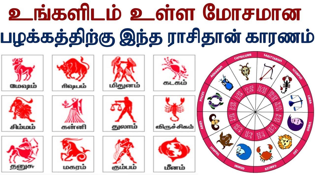 உங்களிடம் உள்ள மோசமான பழக்கத்திற்கு இந்த ராசிதான் காரணம்| Tamil Jothidam | Tamil Astrology