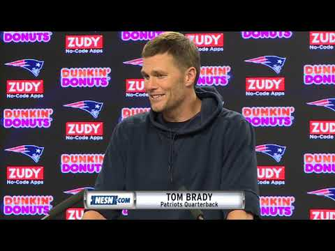 Video: Tom Brady on the Bye Week and having Gronk back