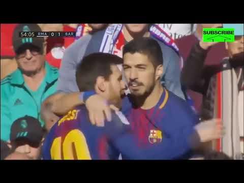 Real Madrid vs Barcelona 0 3 ● All Goals  Highlights HD ● 23 Dec 2017 ● La Liga