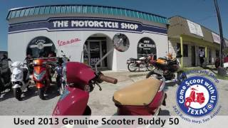 8. used 2013 Genuine Scooter Buddy 50