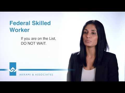Federal Skilled Worker Program Video