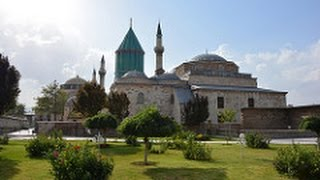 Video Konya, Turkey-Pilgrimage Site Mevlana Museum and Ince Minaret Medrese (With Narration) MP3, 3GP, MP4, WEBM, AVI, FLV November 2018