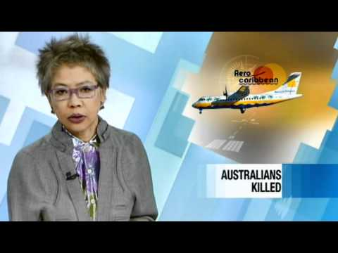 SBS News World Australia - An example of the opener for SBS' Sunday night bulletin. Anchored by Lee Lin Chin. © Special Broadcasting Service 2010.