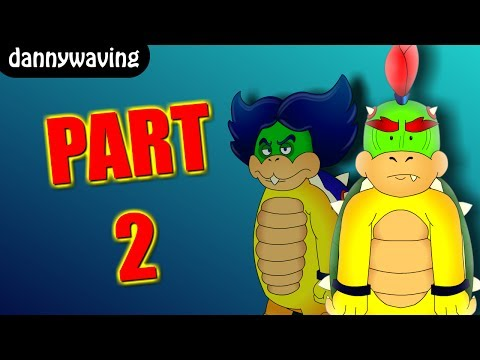 Two Koopas for a throne (part 2)-A day with Bowser Jr