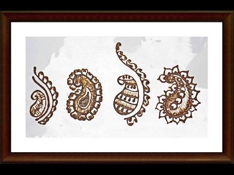 Henna designs henna mango shape 2 henna design tutorial diy do it yourself solutioingenieria Image collections