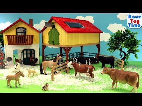 Schleich Farm World Advent Calendar - Learn Farm Animal Names
