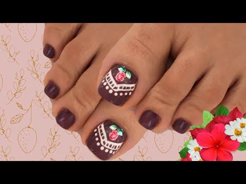 Decoracion de uñas - Decoración  para uñas de pies