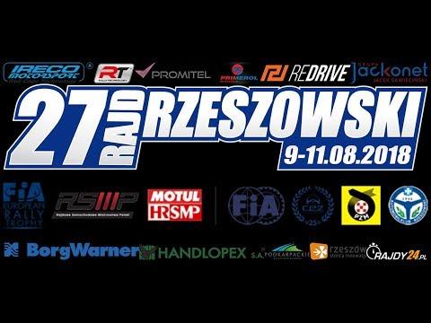 27. Rajd Rzeszowski Zapraszamy na transmisję LIVE RaceLiveTv
