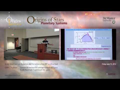 Gilles Chabrier - Brauner Zwerg und Sternentstehung und der Grund der IWF: ein kritischer Blick